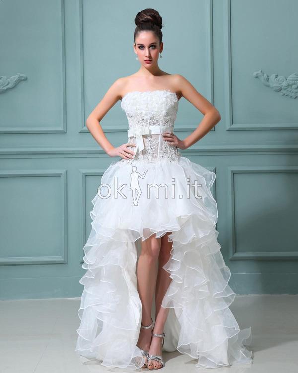 Vestiti Da Sposa Tiffany.Abiti Da Sposa Okmi Abitidonna